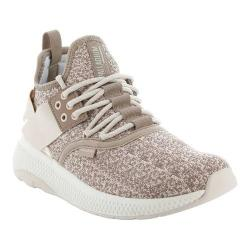 Women's Palladium Ax Eon Lace Knitted Sneaker Stucco/Whisper Pink/Marshmallow Knitted Textile (More options available)