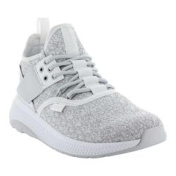 Women's Palladium Ax Eon Lace Knitted Sneaker White/Nimbus Cloud/White Knitted Textile (More options available)