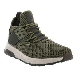 Men's Palladium Ax_Eon Lace High Top Sneaker Olive Branch/Beluga Textile