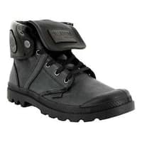 Palladium Pallabrouse Baggy L2 Ankle Boot Black Tumbled Leather