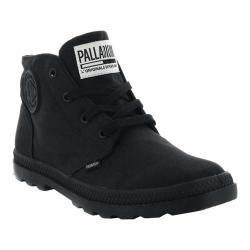 Women's Palladium Pampa Free CVS Chukka Boot Black/Black Textile