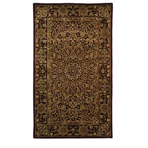 Safavieh Handmade Persian Court Traditional Multi Colored Wool Rug - 4' x 6'