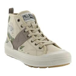 Men's Palladium S_U_B Hi CVS Camo High Top Sneaker Safari/Camo Textile