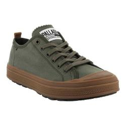 Men's Palladium S_U_B Low CVS Sneaker Olive Night/Mid Gum Canvas