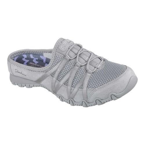 Skechers Relaxed Fit: Bikers - Cuddy Gray Womens Low Backed Size 6M