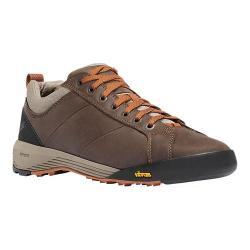 Men's Danner Camp Sherman 3in Hiking Boot Dark Brown/Orange Full Grain Leather