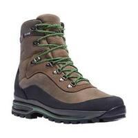 Men's Danner Crag Rat USA 6in WP GORE-TEX Hiking Boot Brown/Green Nubuck