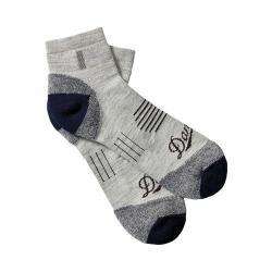 Danner Merino LW Hiking 1/4 Crew Socks (2 Pairs) Grey Merino Wool/Nylon/Lycra