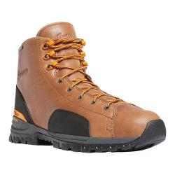 Men's Danner Stronghold 6in Work Boot Brown Full Grain Leather