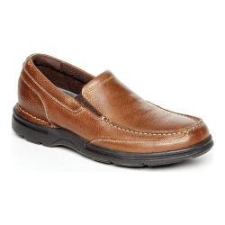 Men's Rockport Eureka Plus Slip-On Bridle Brown Leather