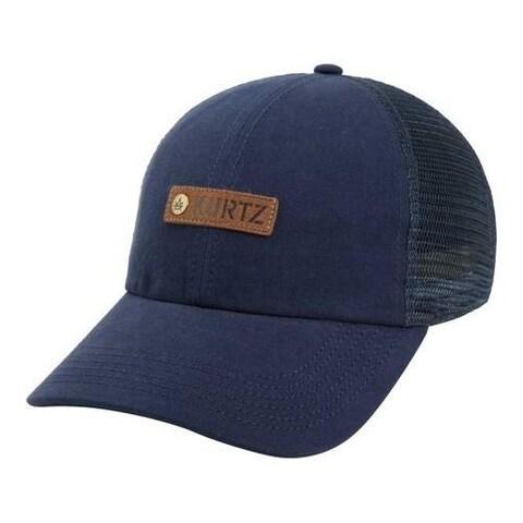 Men's A Kurtz Match Trucker Baseball Cap Infantry Blue