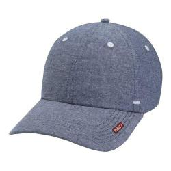 Men's A Kurtz Chambray Baseball Cap Blue