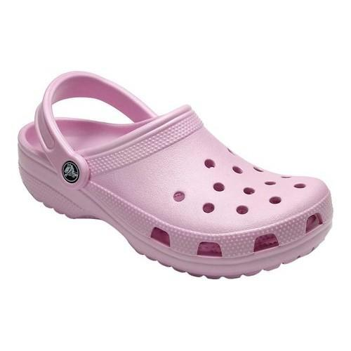 cccf8dae078dd Shop Crocs Classic Clog Ballerina Pink - Free Shipping On Orders Over  45 -  Overstock - 20223538
