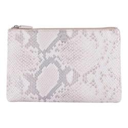 Women's Lodis Sweet Honey RFID Flat Pouch Silver