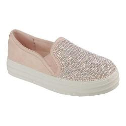 Women's Skechers Double Up Shimmer Shaker Slip-On Sneaker Light Pink. Sale