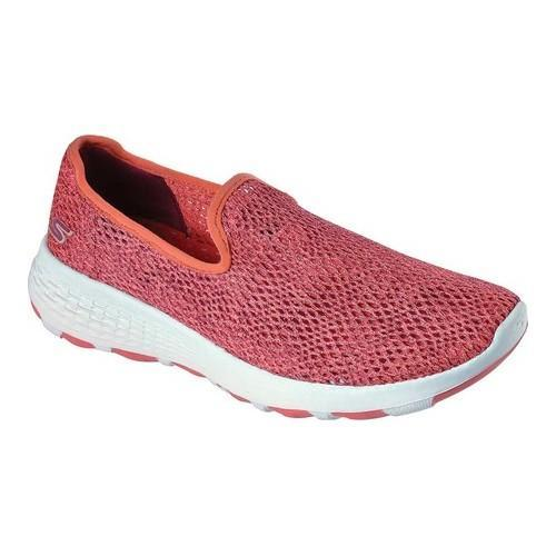 15650 CRL Coral Skechers shoe Women Go Walk cool Sport Mesh Breathe Casual Light