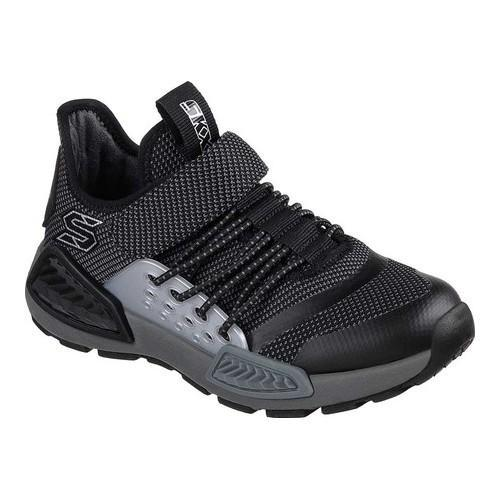 Boys' Skechers Kinectors Thermovolt Sneaker Black/Charcoal