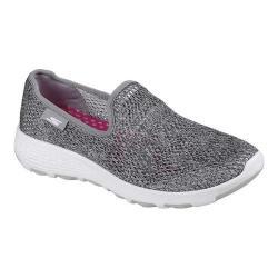 Women's Skechers GOwalk Cool Slip-On Walking Shoe Gray