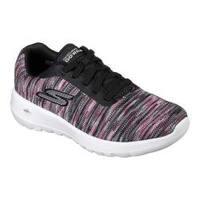 Women's Skechers GOwalk Joy Invite Walking Shoe Black/Pink