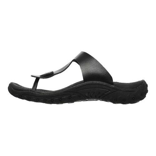 1a54bf9550fd Shop Women s Skechers Reggae Clay Thong Sandal Black - Free Shipping ...