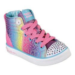 Girls' Skechers Twinkle Toes Twinkle Breeze 2.0 Rainbow Glitz Multi