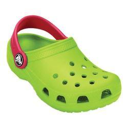 Children's Crocs Kids Classic Volt Green/Raspberry