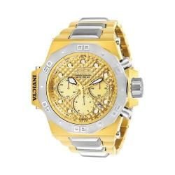 Men's Invicta Akula 23102 Watch Gold/Stainless Steel/Gold
