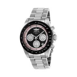 Men's Invicta Speedway 23120 Watch Stainless Steel/Black/Black/White