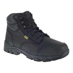 Men's Iron Age Galvanizer 6in Steel Toe Work Boot Black Full Grain Leather
