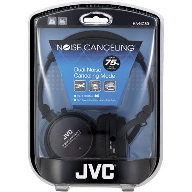 JVC HANC80 Folding Noise-cancelling Headphones
