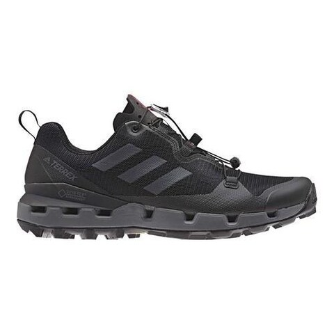 Men's adidas Terrex Fast GORE-TEX SURROUND Hiking Shoe Black/Grey Five/Hi-Res Red