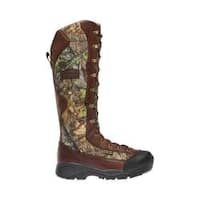 Men's LaCrosse Venom 18in NWTF Snake Boot Mossy Oak NWTF Obsession Leather/Nylon