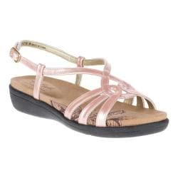 Soft Style Patrese Slingback Sandal(Women's) -Black Patent Synthetic Discount Cheap Buy Cheap Good Selling Best Seller bZsiQNL