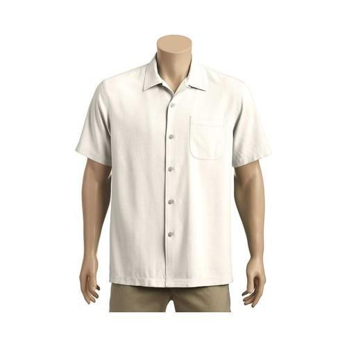 20168cc20a Shop Men's Tommy Bahama Catalina Twill Short Sleeve Coconut - Free Shipping  Today - Overstock - 20268990