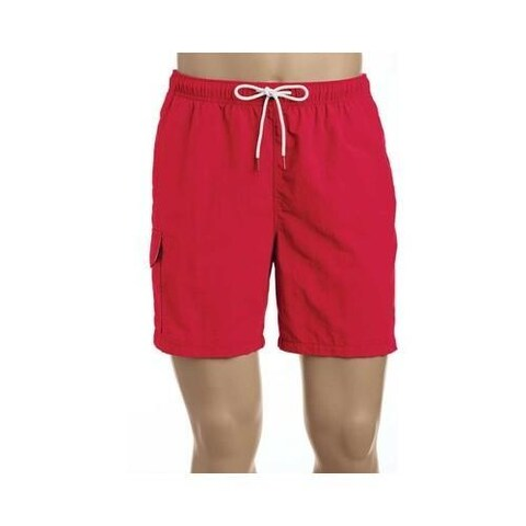 Men's Tommy Bahama Naples Coast Swim Short Ribbon Red