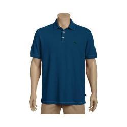 Men's Tommy Bahama Tropicool Spectator Short Sleeve Polo Shirt Bering Blue