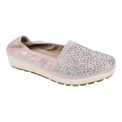 Women's White Mountain Lewis Slip-On Shoe Pink Metallic