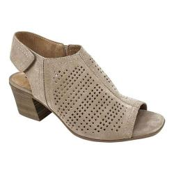 Women's White Mountain Lorna Sandal Taupe Suede