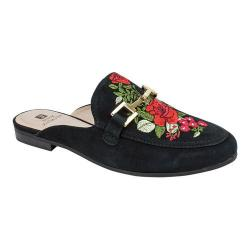 Women's White Mountain Shannon Mule Black Suede