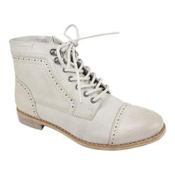 Women's White Mountain Tate Bootie Ice Burnished Smooth