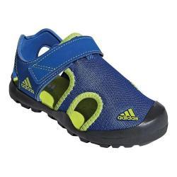 Children's adidas Captain Toey Closed Toe Sandal Blue Beauty/Solar Slime/Carbon