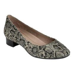Women's Aerosoles Subway Pump Black Tan Python Printed Leather (More options available)