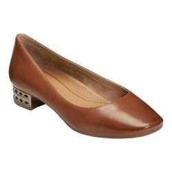 Women's Aerosoles Subway Pump Mid Brown Leather (More options available)
