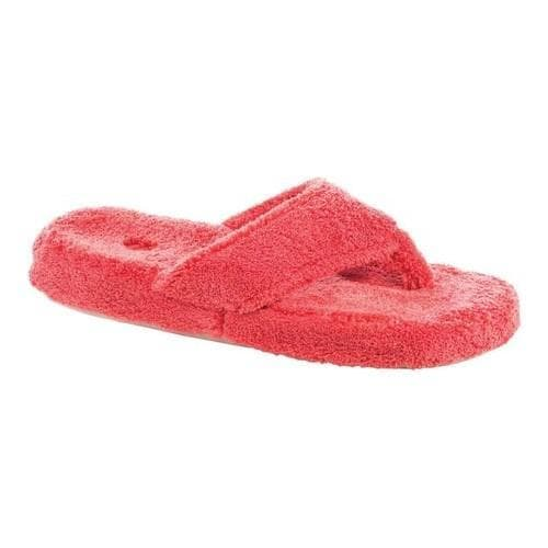 d94a30473b8f Shop Women s Acorn New Spa Thong Lobster Red - Free Shipping On Orders Over   45 - Overstock.com - 20296782