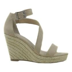Women's Charles by Charles David Lou Wedge Sandal Nude Microsuede (3 options available)