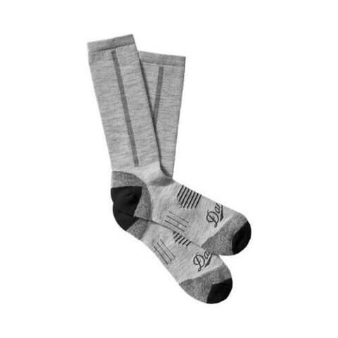 Danner Merino MW Hiking Crew Socks (2 Pairs) Grey Merino Wool/Nylon/Lycra