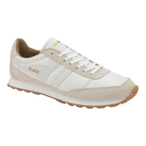 Shop Men's Gola Flyer Trainer White/Gum