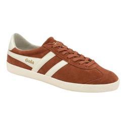 Men's Gola Specialist Sneaker Rust/Off White Suede