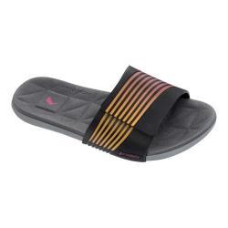 Women's Rider Prana Slide Sandal Grey/Black/Pink (More options available)