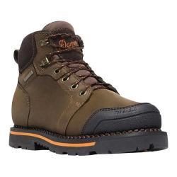 Men's Danner Trakwelt 6in Work Boot Brown Full Grain Leather